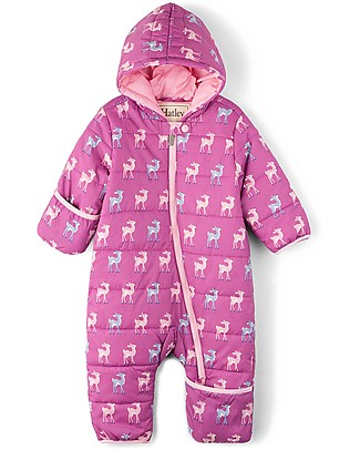 Hatley Baby's Winter Puffer All-in-one, Fawns (the perfect winter pramsuit!) Snowsuits