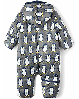 Hatley Baby's Winter Puffer All-in-one, Penguins (the perfect winter pramsuit!) Snowsuits