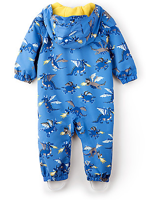 Hatley Baby Microfiber Bundler, Fire Breathing Dragons  Snowsuits