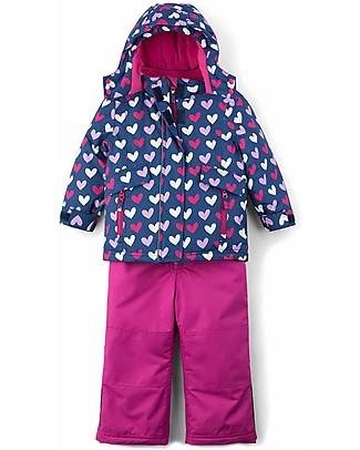 Hatley Baby Snow Suit Set, Hearts  Snowsuits