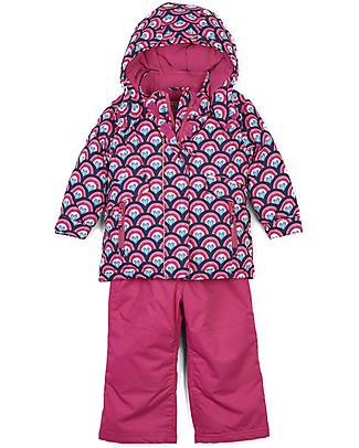 Hatley Baby Snow Suit Set, Lovely Rainbow Coats