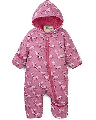 Hatley Baby Winter Bundler All in One with Hood, Deer Snowsuits