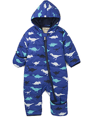 Hatley Baby Winter Bundler All in One with Hood, Dino Snowsuits