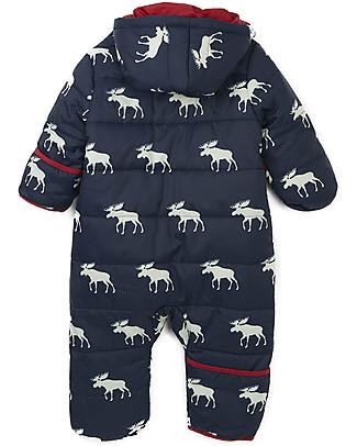 Hatley Baby Winter Bundler All in One with Hood, Moose Coats