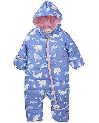 Hatley Baby Winter Bundler All in One with Hood, Polar Scene Coats