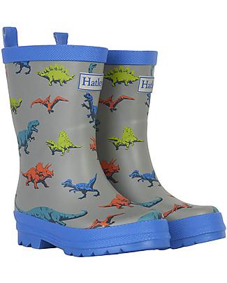 Hatley Boys Matte Rain Boots, Wild Dinos Wellies