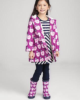 Hatley Girl Matte Rain Boots, Apple Orchard Umbrellas