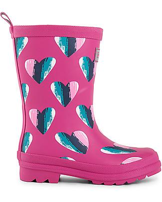 Hatley Girl Rain Boots, Hearts  Wellies