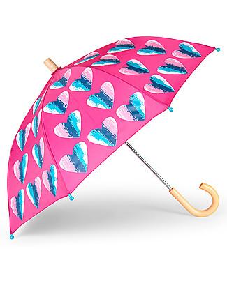 Hatley Girl Umbrella - Hearts Umbrellas