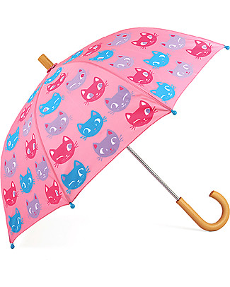 Hatley Grils Umbrella - Silly Kitties  Umbrellas