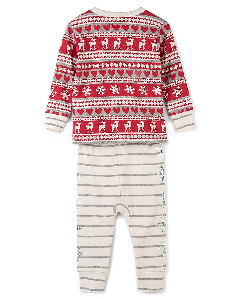22c7a974e8d2 Hatley Long Sleeves Applique Baby Pajama Set