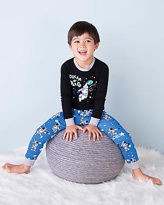 Hatley Long Sleeves Applique Pajama Set, Dream Big - 100% organic cotton Pyjamas