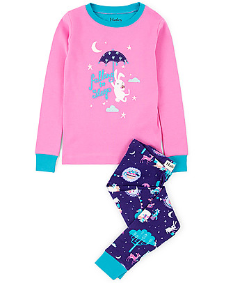 Hatley Long Sleeves Applique Pajama Set, Falling to Sleep - 100% organic cotton null