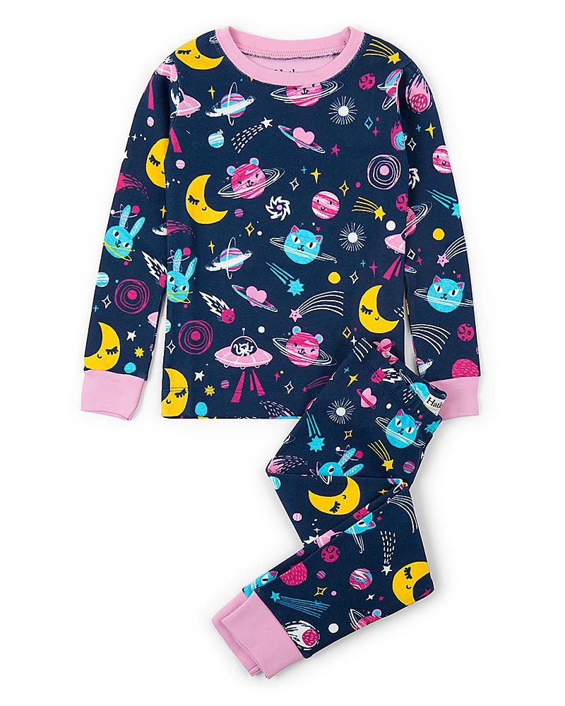 Hatley Girls Organic Cotton Long Sleeve Printed Pyjama Sets Pigiama Bambina