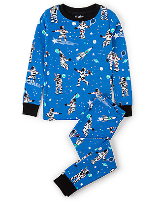 Hatley Long Sleeves Pajama Set, Athletic Astronauts Glow - 100% organic cotton Pyjamas