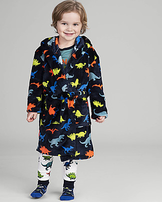 Hatley Long Sleeves Pajama Set with Applique, Dino Herd - 100% organic cotton Pyjamas