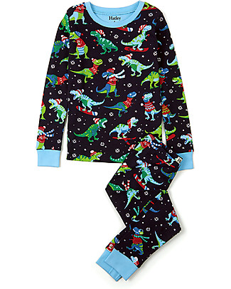 Hatley Long Sleeves Pyjamas Set, T-Rex - 100% Organic cotton  Pyjamas