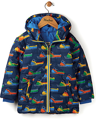 Hatley Vintage Snowmobile Puffer Jacket Jackets