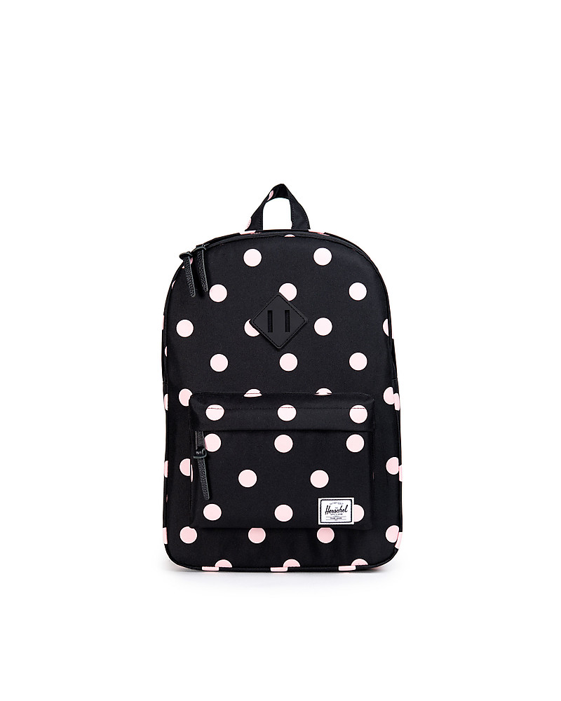 37e64db9c7b0 Herschel Supply Co. Heritage Youth Backpack 6 Years Old and Up - Black with  Pink