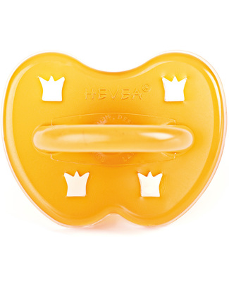 Hevea Natural Crown Pacifier/Soother (0-3 months) Dummies & Soothers