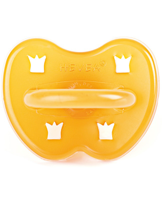 Hevea Natural Crown Pacifier/Soother (3-36 months) Dummies & Soothers