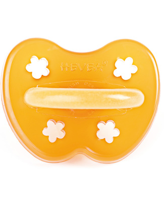 Hevea Natural Flower Pacifier/Soother (3-36 months) Dummies & Soothers