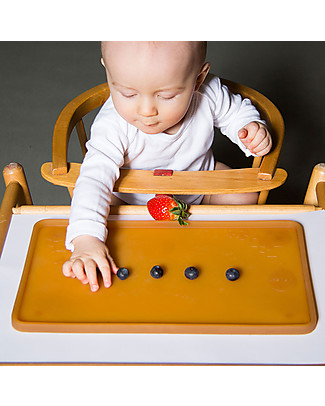 Hevea Natural Rubber Table Mat, 35 x 22 cm - 100% safe and non-toxic! Meal Sets