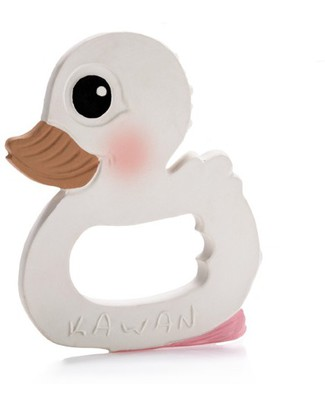 Hevea Set Kawan Combo - Duck and Teether - Natural Rubber! Bath Toys