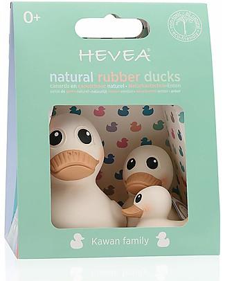 Hevea Set Kawan Family: Kawan Maxi, Kawan, Kawan Mini Bath Toys