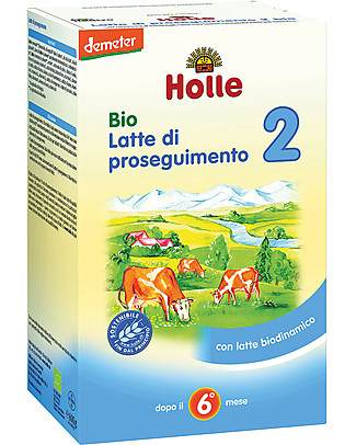 Holle Organic Infant Follow-on Formula 2 - From 6 to 10 months approx. Baby Food
