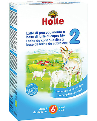 Holle Organic Infant Goat Milk Formula 2 - From 6 to 10 months approx. Organic Formula Milk
