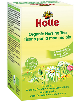 Holle Organic Nursing Tea, 20 Teabags – Ideal throughout breastfeeding Infusions