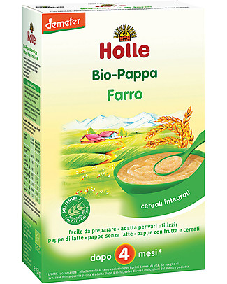 Holle Organic Spelt Porridge, 250 gr - After 4 months Baby Cereal