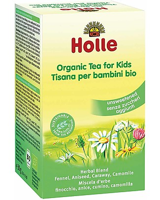 Holle Organic Tea for Kids, 30gr – Senza zuccheri aggiunti Infusions