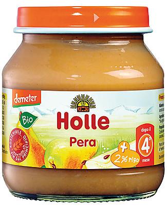 Holle Pear Fruit Jar, 125 gr - After 4 months Baby Food