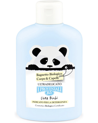 I Provenzali Organic Baby Bath for Skin & Hair - Ultra sensitive and No SLS, SLES, Parabens and OGM null