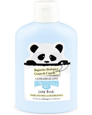 I Provenzali Organic Baby Bath for Skin & Hair - Ultra sensitive and No SLS, SLES, Parabens and OGM Shampoos And Baby Bath Wash