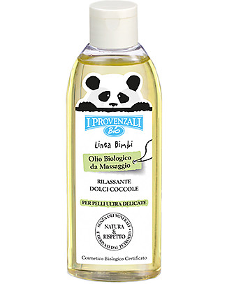 I Provenzali Organic Moisturising Baby Oil - 100% Pure Vegetable Oils & Pure Vitamin E - 150ml Body Lotions And Oils