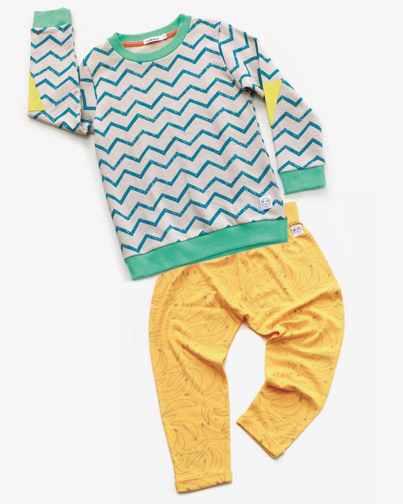 Indikidual Zig-Zag Swim Costume