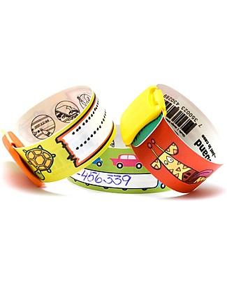 Infoband S.O.S Bracelet, Turtle - Green Bracelets