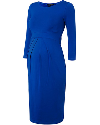 Isabella Oliver Ivybridge Maternity Dress - Pleated Waist - Cobalt Blue! Dresses