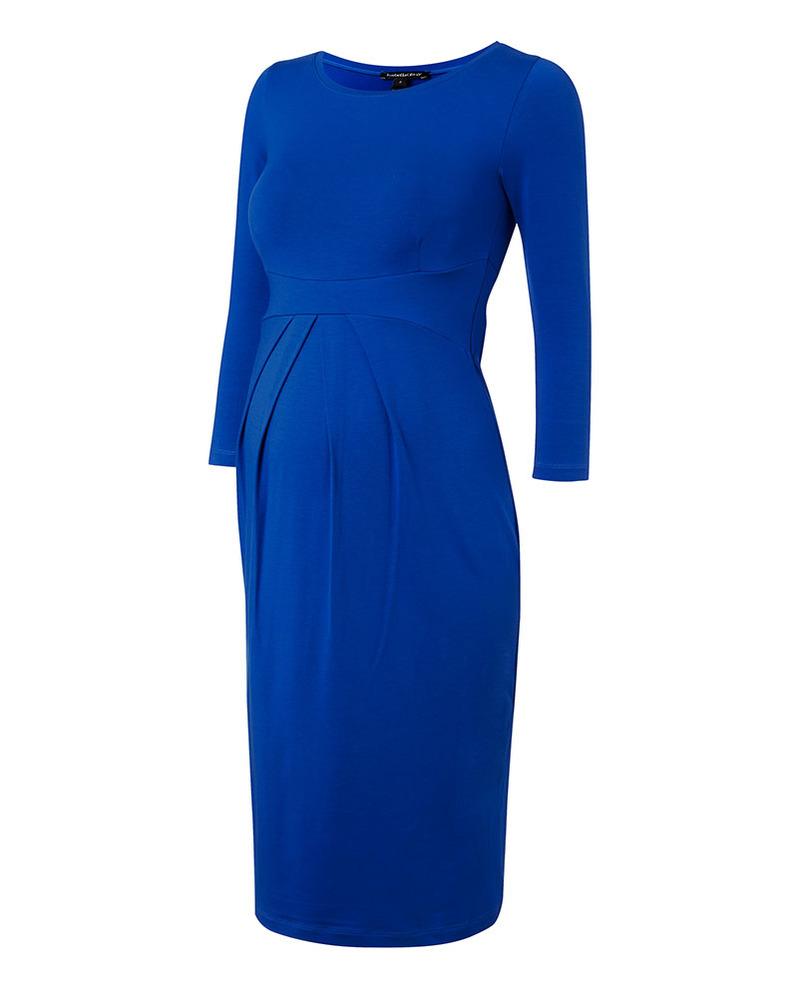 f68e60c76155b Isabella Oliver Ivybridge Maternity Dress - Pleated Waist - Cobalt Blue!  Dresses