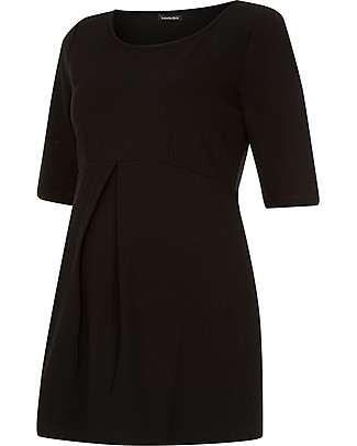 Isabella Oliver Marianne Maternity Top - Caviar Black Evening Tops