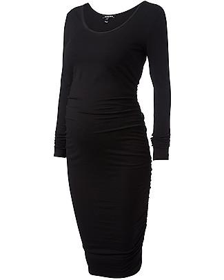 Isabella Oliver Maternity Midi Dress - Caviar Black -THE Maternity LBD! Dresses