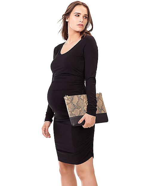 0f1b8cc269c7d Isabella Oliver Maternity Midi Dress - Caviar Black -THE Maternity LBD!  Dresses