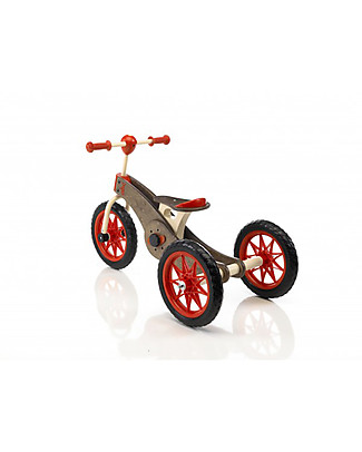 Italtrike Abc Chocolate Magic Wheels, Two-in-One Product - From Trycicle to Bike! Bycicles