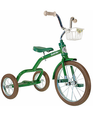 Italtrike Classic Line Spokes, High Quality Tricycle, Metal Structure - Green Bycicles