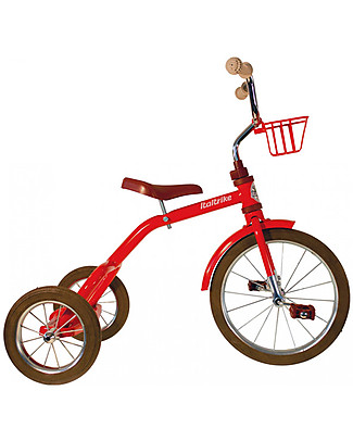 Italtrike Classic Line Spokes, High Quality Tricycle, Metal Structure - Red Bycicles