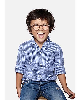 Izipizi Kids screen protective glasses, Screen Junior #D, Blue Tortoise - from 4 to 10 years Sunglasses