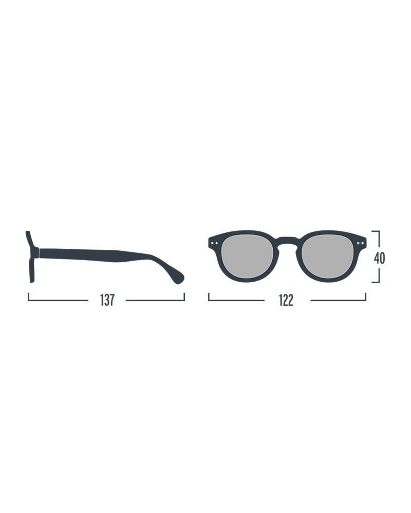 Izipizi Sun Junior  C, Tortoise with Blue Mirror Lenses - One size 4 ... b0131f2c4e5f